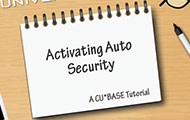 Activating Auto Security