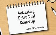 Activating Debit Card Round Up