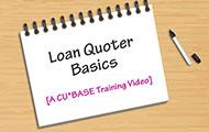 Loan Quoter Basics