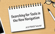 Searching for Tools in the New Navigation