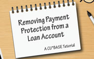 Removing Payment Protection from a Loan Account