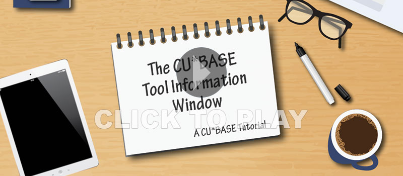 Tool information window